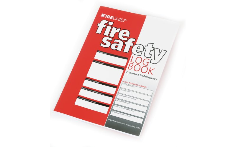 Fire Log Book-a5 – Pack Of 10 (FLB2)