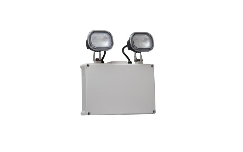 2x7.5W IP65 LED Emergency Twinspot
