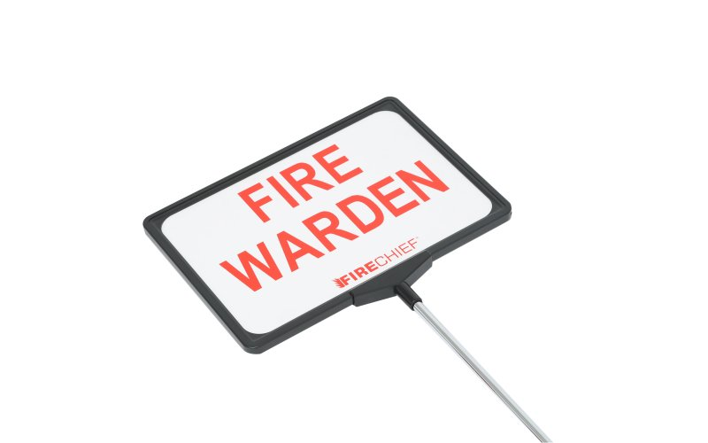 Teescopic Fire Warden Sign (TFW1)