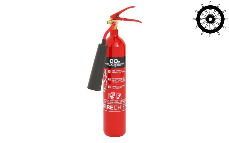2kg Steel co2 Fire Extinguisher (FXCD2S)