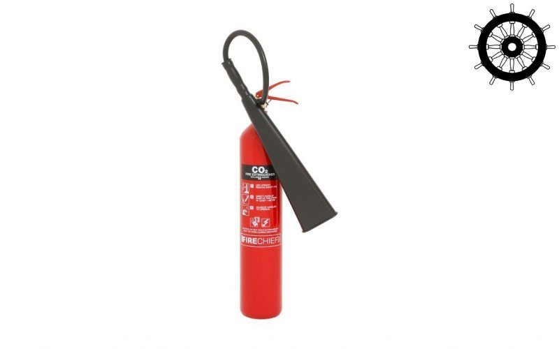 5kg Steel Co2 Fire Extinguisher (FXCD5S)