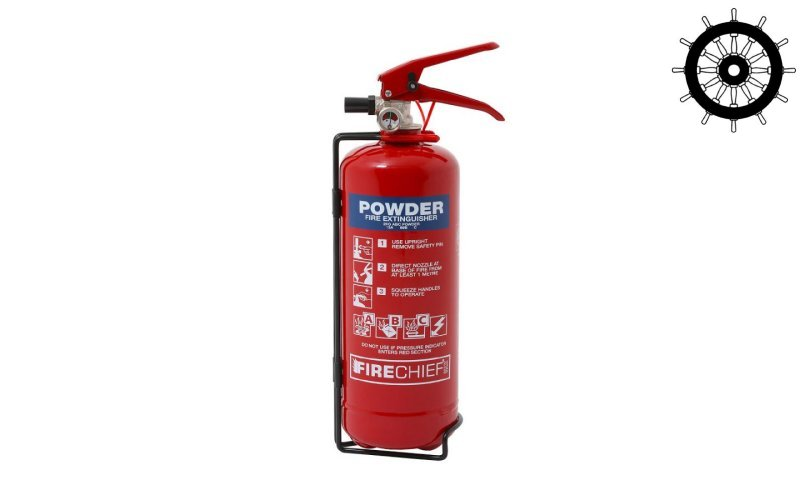2kg ABC Powder Fire Extinguisher (FXP2)