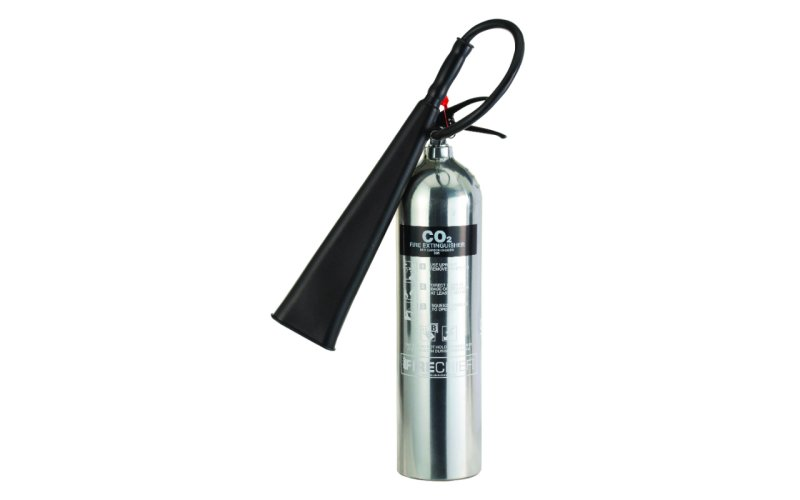 Firechief Elite 5KG Co2 Polished Fire Extinguisher (PXC5)