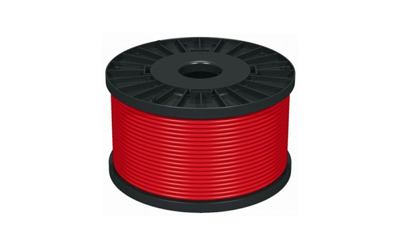 1.5mm 2 core Fire Alarm Cable- Red- 100m Reel