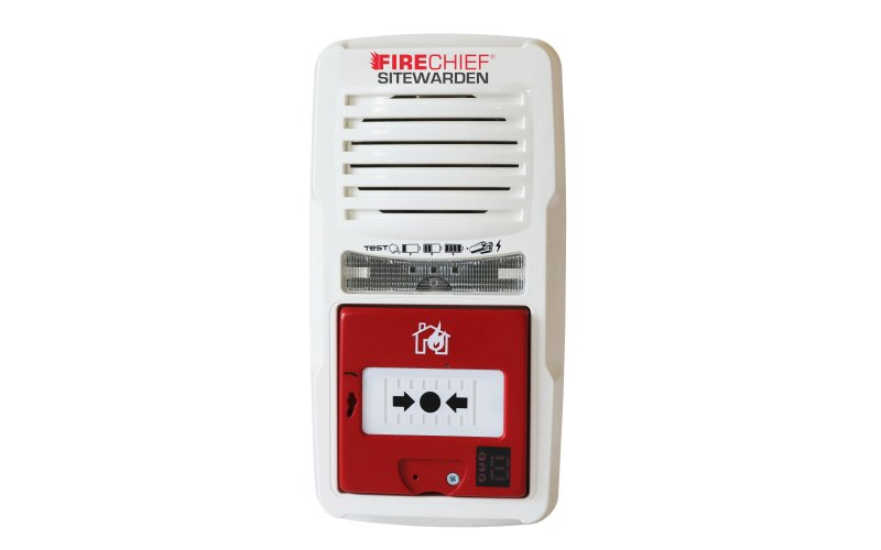 Firechief Sitewarden Wireless Callpoint Alarm