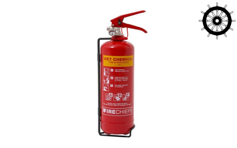 Domestic Fire Extinguisher 2ltr Wet Chemical