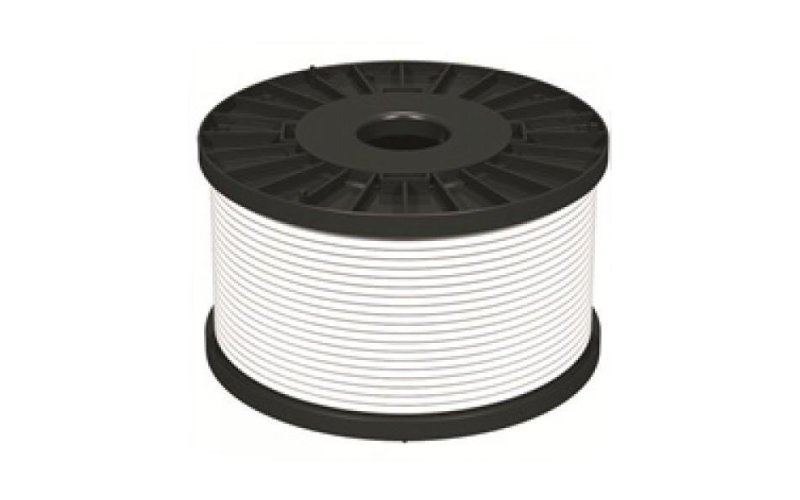 1.5mm 2 core Fire Alarm Cable- White- 100m Reel